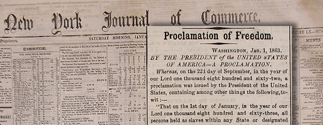Emancipation Proclamation Rich In History